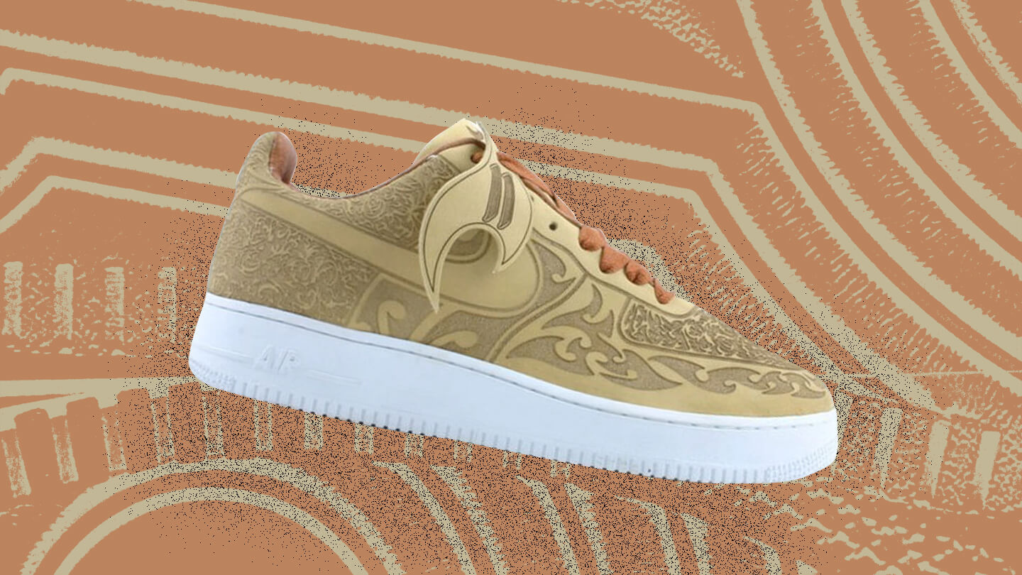 Air Force 1 Low Cashmere Laser sneaker