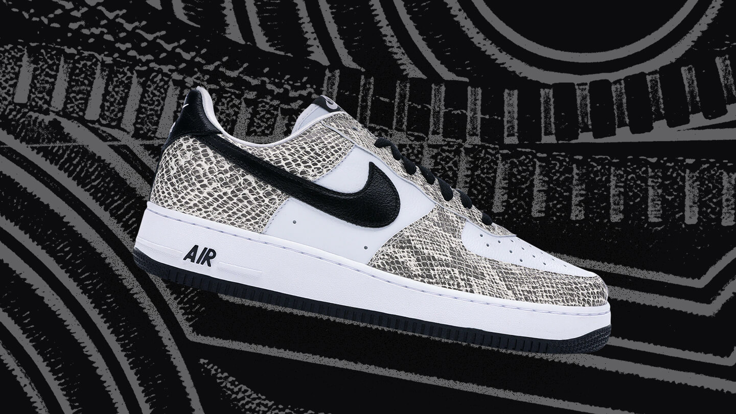 Air Force 1 Low Cocoa Snake sneaker