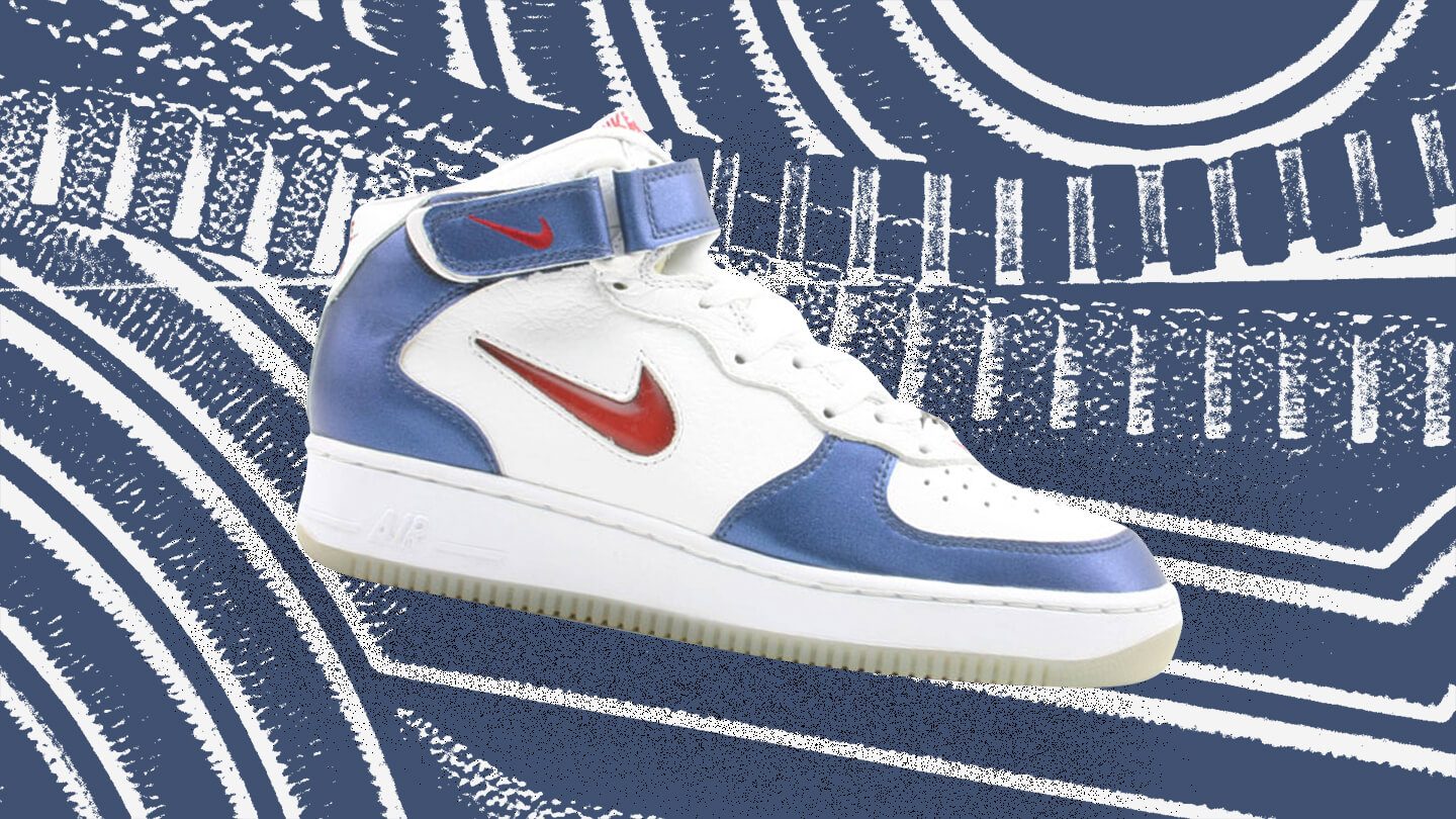 Air Force 1 Mid Independence Day sneaker